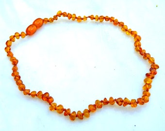 Baltic Amber Baby Teething Necklace Honey Natural Healing