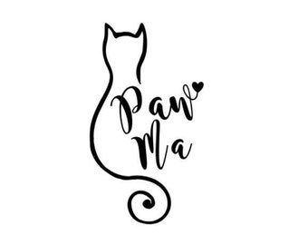 Paw Ma Decal