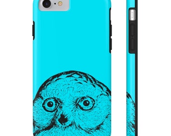 Owl  - Tough Case for iPhone X, iPhone 8/8 Plus, iPhone 7/7 Plus, iPhone 6/6s, 6s Plus, iPhone 5/5s/5se, Samsung Galaxy S6