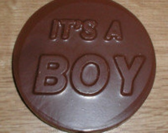 It's A Boy  Lolly Chocolate Mold