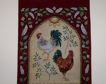 Tapestry Chicken Wall hanging