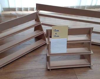 Display Stand - 3 shelf version - flat pack - ideal for craft fairs!  Various lengths & can be customised.