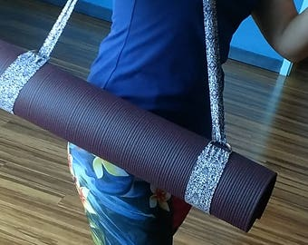 Yoga Mat Strap ~ Yoga Prop Strap ~ EmeraldFlamingoShop