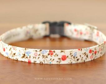 Rose Garden Cat Collar