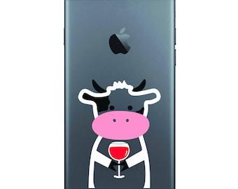 Cow Winomal Sticker