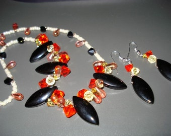 Autumn Breeze featuring Swarovski Drops