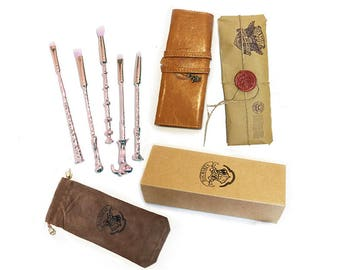 FREE SHIPPING Rose Gold Original make up brushes roll Wands Makeup Brushes Gift Wrap options