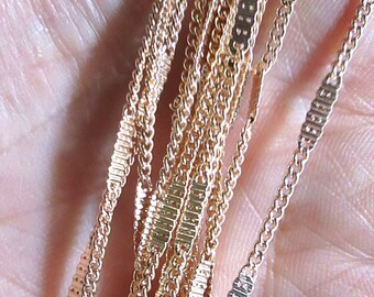 Rose-Gold Toned Chain