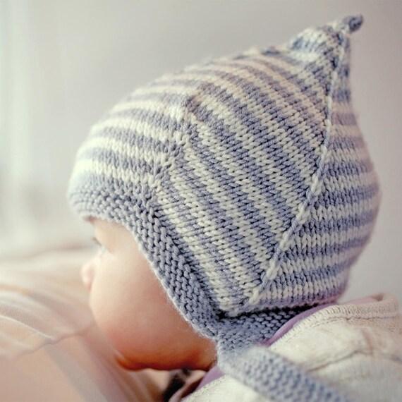 Child Knit Hat Pattern 4x4