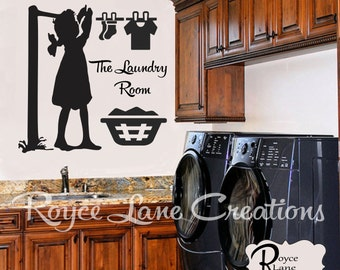 Laundry Room Art The Laundry Room Laundry Decal - Laundry Room Wall Decor- Laundry Decals- Laundry Room Decor