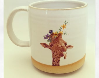 Talk to the Animals- Giraffe Mug