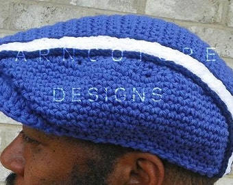 The Urban Stripe Sport Cap For MEN - In Cool Absorbent Cotton / You CHOOSE The Color