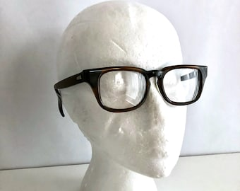 Vintage Glasses 50's/60's Mod, Square, Frames by Bausch and Lomb
