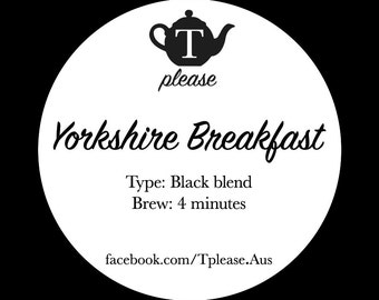 Yorkshire Breakfast loose leaf tea