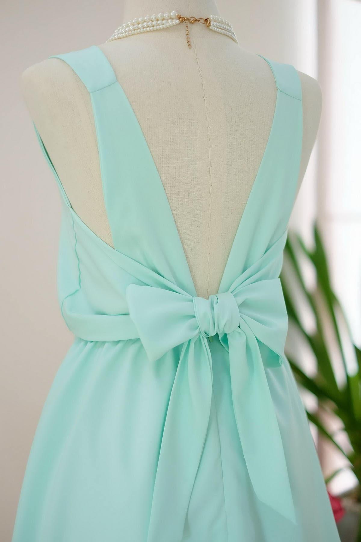 Grüne Brautjungfer Kleid Mint grünes Kleid Mint Partei Kleid