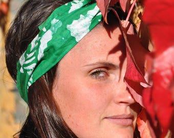 Headband P' little trickster Green Wax