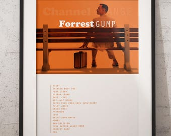 Frank ocean poster, Forrest Gump, Channel orange album poster, Frank ocean wall decor, Frank ocean art, Frank ocean channel orange, hip hop