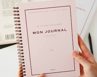 MON JOURNAL PLANNER | Monthly Planner | Yearly Planner | Weekly Planner | 365 Days | Grid Note | Korean Stationery | Christmas Gift |Undated
