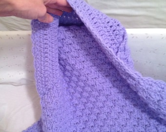 Hooded Baby Blanket Afghan Crochet, crochet hooded blanket, nursery bedding
