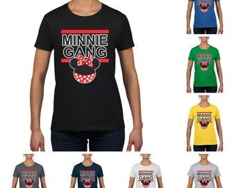 Minnie Gang Women's Round Neck T-Shirt