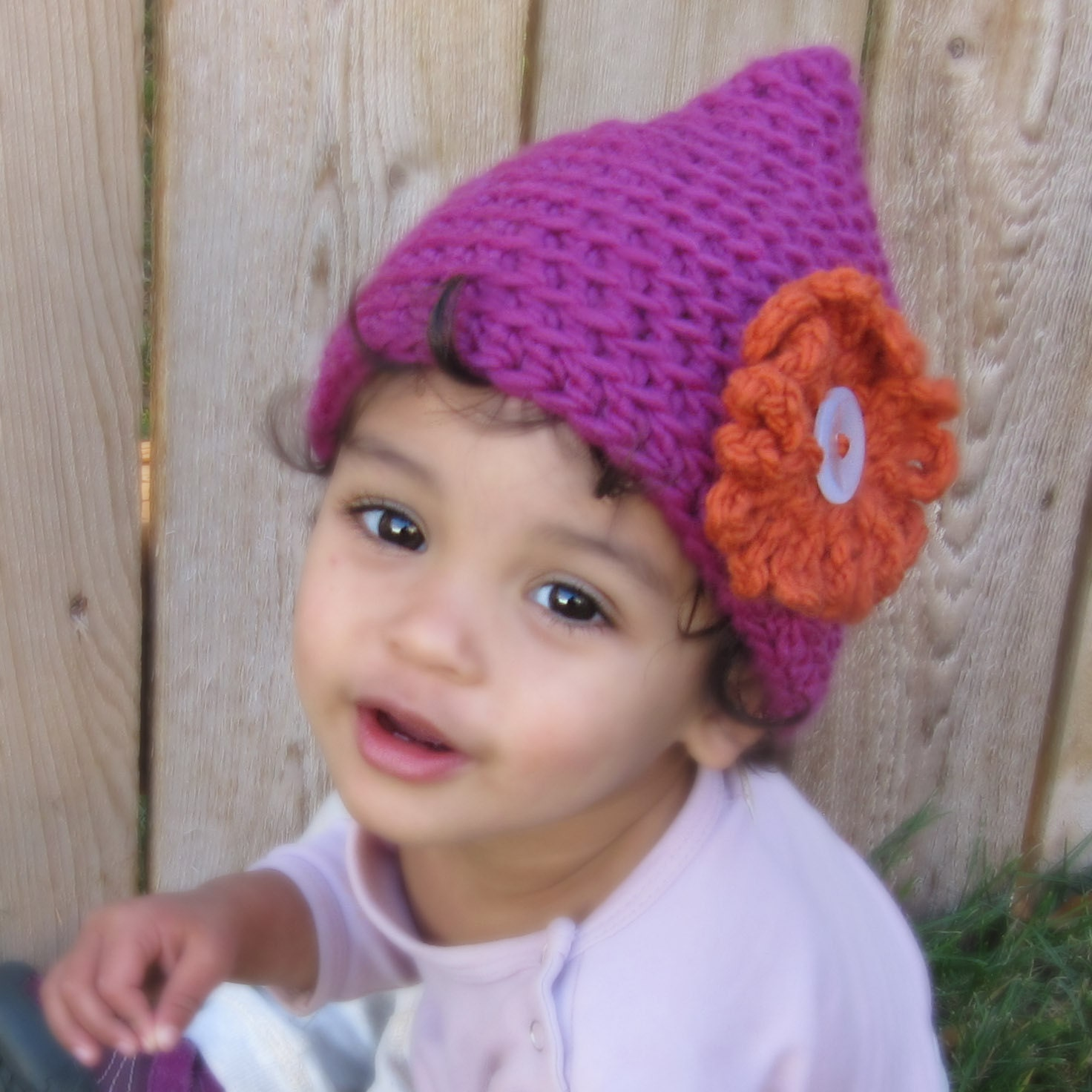 Pixie Point Hat CROCHET PATTERN instant download elf gnome