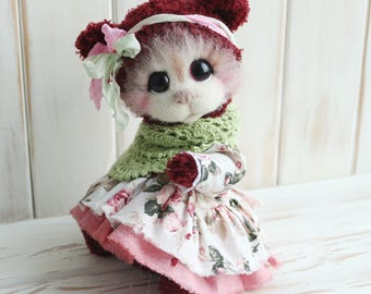Sold. For example. Artist teddy bear Rosa Marmelatta.