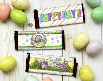 Gift card holder candy bar wrappers special occasion gift easter candy bar wrappers easter party favors easter chocolate treats kids easter candy negle Choice Image
