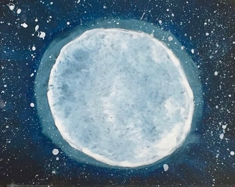 Moon Digital Print