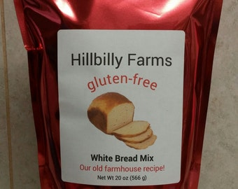 White Gluten-free Bread Mix