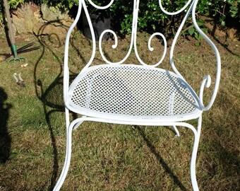 Old garden chair