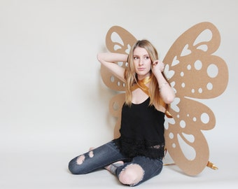4 - 3ft Giant Cardboard Wings - Photo Prop, Weddings and Decoration - Free Shipping