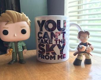 Firefly inspired Space Mug