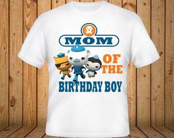 Octonauts Mom of the Birthday Boy Shirt