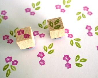 plum blossom (ume) - mini stamp set