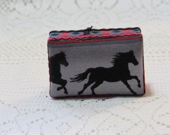 Southwest Horse Dollhouse Ottoman