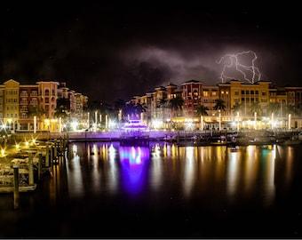 Bayfront storm