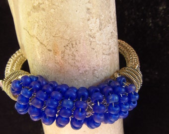 Royal Purple Blue bracelet