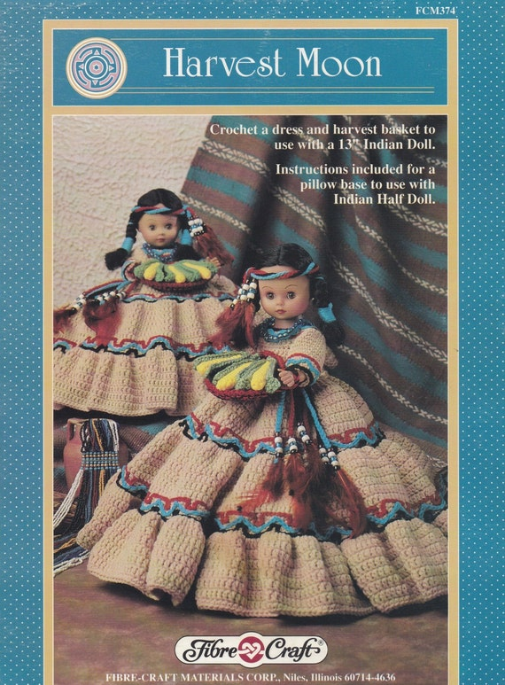 Harvest Moon Fibre Craft Doll Clothes Crochet Pattern Booklet