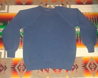 Vintage Raglan Sweatshirt Size S-M
