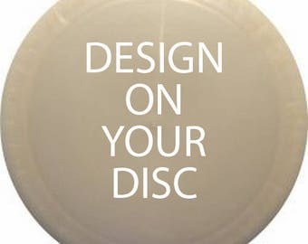 Mandala Disc - Hand-drawn - Inked Disc - One-of-a-Kind - Pre-Owned - Custom Design - Personalized