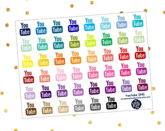 Youtube Stickers {64}