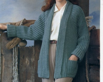 Wendy 4102 Knitting Pattern for Lady's Jacket 32/34 inch
