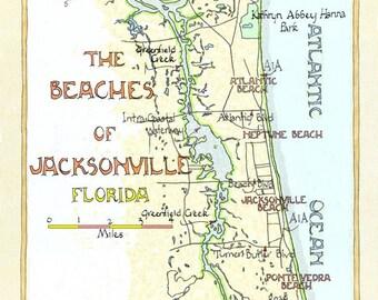 Beaches of Jacksonville Florida