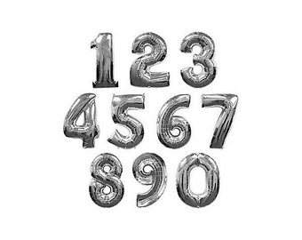 Jumbo Balloon Number/ foil balloons/ foil number