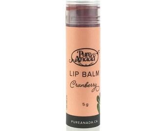Cranberry Lip Balm