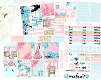 BREAKFAST AT TIFFANY'S | 6 Page Sticker Kit | ECLPVertical