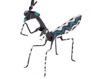 Tambaa Hand Painted Praying Mantis