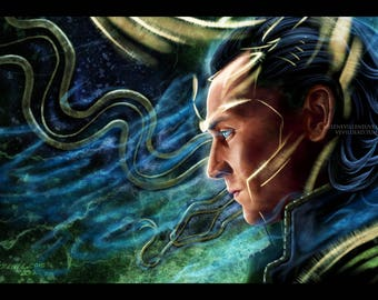 Loki Words can be poison Prints