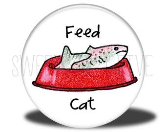 Feed Cat - Chore Magnet