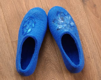 falted slippers - Eco-friendly - healthy & comfortable - wool's watercolor